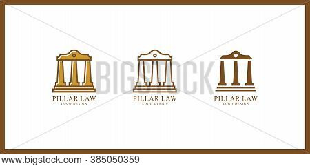 Isolated Pillar Icon. History Vector Element Can Be Used For Pillar, History, Column Design Concept.