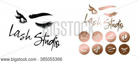 Eyelash Extensions Business Form Package Is Perfect Your Business. Creative And Beautifully Crafted