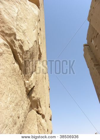 Temple Wall in Egypt