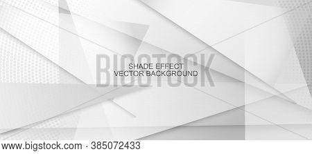 Halftone Dynamic Gray Vector Background. Edgy Tile. Halftone Wallpaper. Geometric Dots Texture. Pop