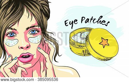 Patches Under Eye Skin Care: Eye Patches For Puffiness, Wrinkles, Dryness And Dark Circles, Under Th