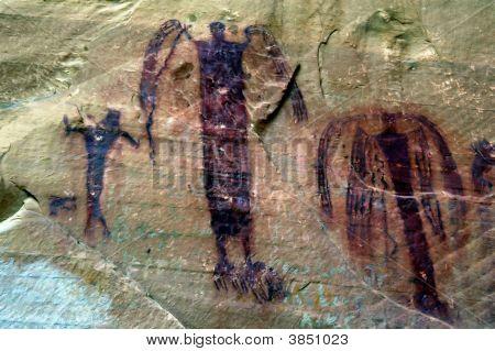 Prehistoric Indian Walll Art 2_Filtered