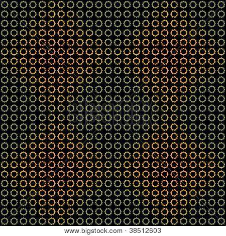 Seamless Dark Colorful Background
