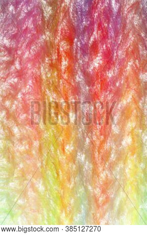 Illustration Of Yellow, Red, Blue And Green Wax Crayon With Low Coverage Vertical Background Digital