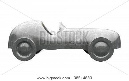 Die-cast Toy Car Side View