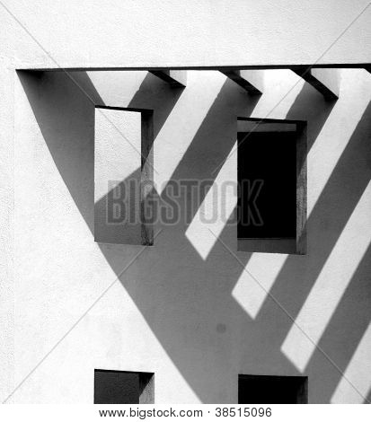 Abstract form of Building