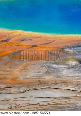Ripples Of Color At Grand Prismatic Spring