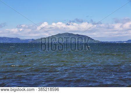 The View Of Lake In Rotorua, New Zealand