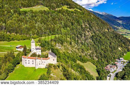 Castle Sprechenstein Or Castel Pietra In South Tyrol, Italy