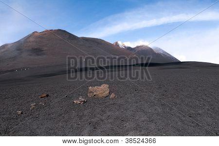 Peak Of Mount Etna