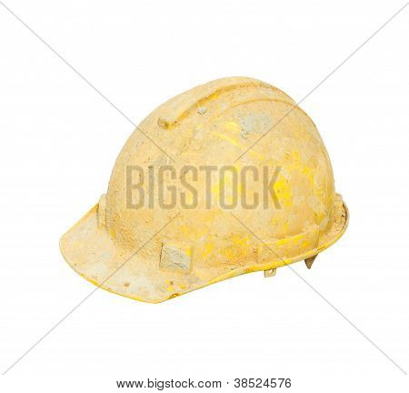 Yellow Hard Hat dirty