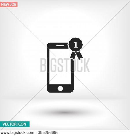Pictograph Of Award Vector Icon , Lorem Ipsum Flat Design