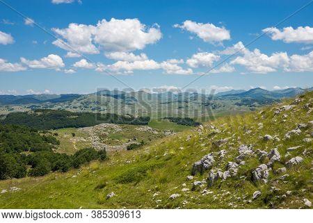 Mountain Landscape National Park Durmitor, Montenegro, Europe.