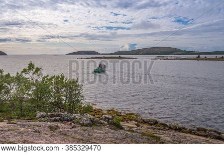 Views Of The Islands Of The Archipelago Of The Kuzova.the Archipelago Kuzova Of People Do Not Live.