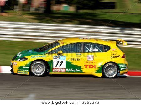 Seat Tdi Btcc Car Plato