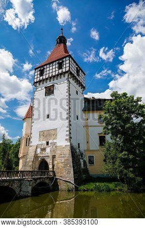 Renaissance Castle Blatna Near Strakonice In Southern Bohemia, Czech Republic, June 01, 2019.