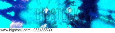 Grunge Banner. Vivid Dark  And Cyan Artwork.  Abstract  Neon Poster. Black And Cyan  Background. Vin