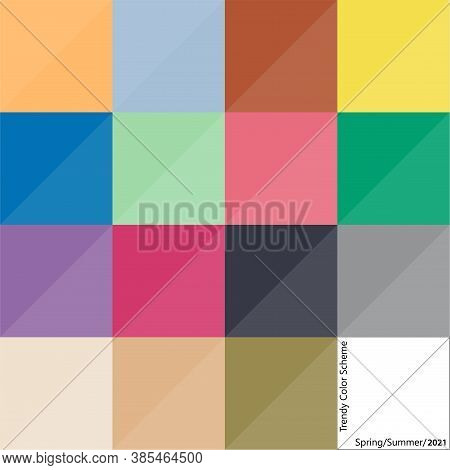 Fashion Color Design Scheme For Spring And Summer Season Of 2021