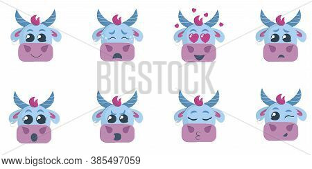 There Is The Set Of Emotions. There Are Eight Emotions Of A Bull, Such As Joy, Despair, Falling In L