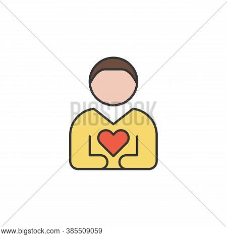 Loyality Friendship Outline Icon. Elements Of Friendship Line Icon. Signs, Symbols And Vectors Can B