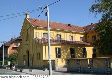 ZAGREB, CROATIA - JULY 27, 2012: Parish Church of St. Michael the Archangel in Zagreb, Croatia