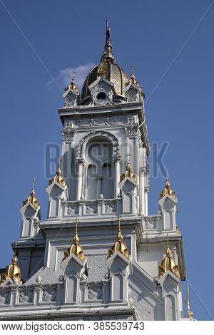 Bulgarian St. Stephen Church In Istanbul City, Turkey