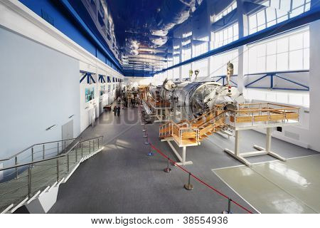 STAR TOWN - FEBRUARY 4: Big simulators in Cosmonaut Training Center named of Gagarin on February 4, 2012 in Star town near Moscow, Russia. Center was established on January 11, 1960.