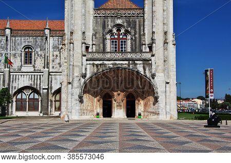 Belem, Lisbon / Portugal - 10 May 2015: Jeronimos Monastery In Belem, Lisbon City, Portugal