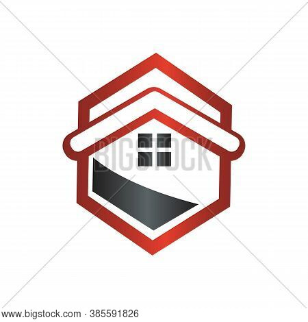 Architectural Home Design Logo Vector Architecture Symbol Graphic Concept