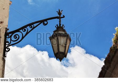 The Vintage Lamp In Coimbra City, Portugal