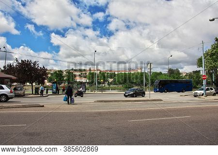 Coimbra / Portugal - 14 May 2015: The View On Coimbra City, Portugal