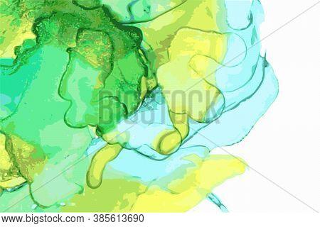 Light Blue, Green, Emerald Stone Marble Texture