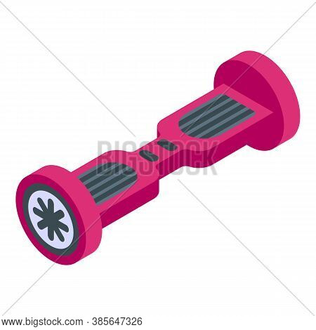 Hover Board Icon. Isometric Of Hover Board Vector Icon For Web Design Isolated On White Background