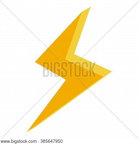 Quality Assurance Bolt Icon. Isometric Of Quality Assurance Bolt Vector Icon For Web Design Isolated