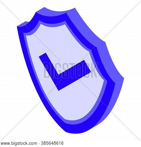 Quality Assurance Shield Icon. Isometric Of Quality Assurance Shield Vector Icon For Web Design Isol