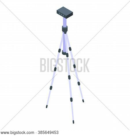 Tripod Support Icon. Isometric Of Tripod Support Vector Icon For Web Design Isolated On White Backgr