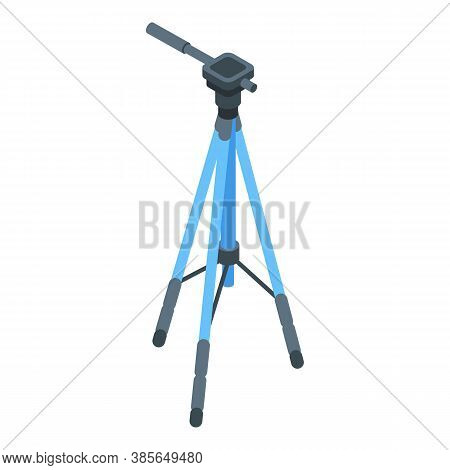 Tripod Holder Icon. Isometric Of Tripod Holder Vector Icon For Web Design Isolated On White Backgrou