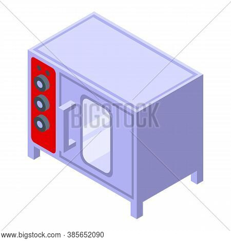 Convection Oven Cooking Icon. Isometric Of Convection Oven Cooking Vector Icon For Web Design Isolat