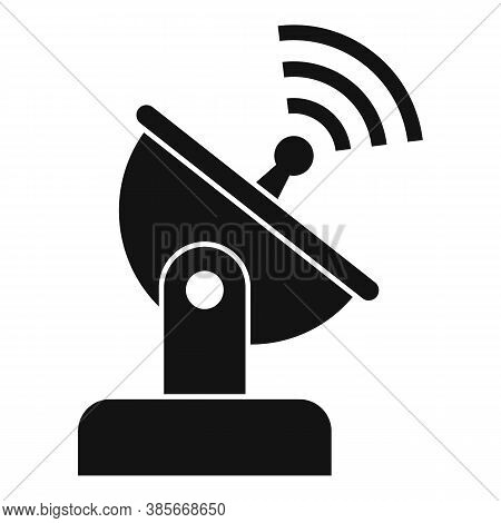 Ground Antenna Icon. Simple Illustration Of Ground Antenna Vector Icon For Web Design Isolated On Wh