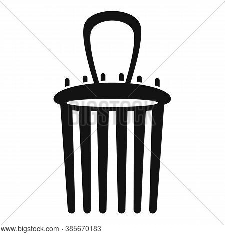 Tool Barrette Icon. Simple Illustration Of Tool Barrette Vector Icon For Web Design Isolated On Whit