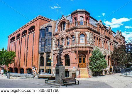 The Very Beautiful Town Of Helena, Montana