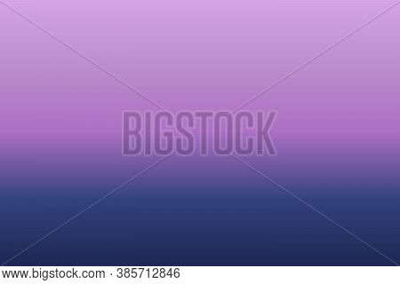 Abstract Background With Smooth Gradient Purple And Blue Color Twilight Time. For Wallpaper, Backgro