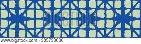 Japanese Tie Dye Seamless Pattern. Artistic Shibori Seamless Pattern. Bohemian Geometric Asian Tie D