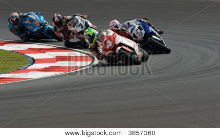 Brazilian Alex Barros Pramac D\'Antin 2007 Polini Malaysian Motorcycle Grand Prix Sepang Circuit Mal