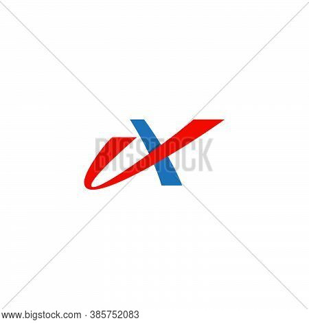 Letter A Logo From Swooshes, Sporty, Dynamic
