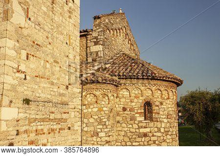 San Severo Church In Bardolino In Italy