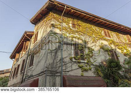 Old House In Bardolino In Italy
