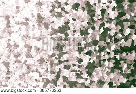 Black Camouflage. Watercolor Camo Background. Grey Combat Pattern. Brown Graphic Commando Shirt. Bla