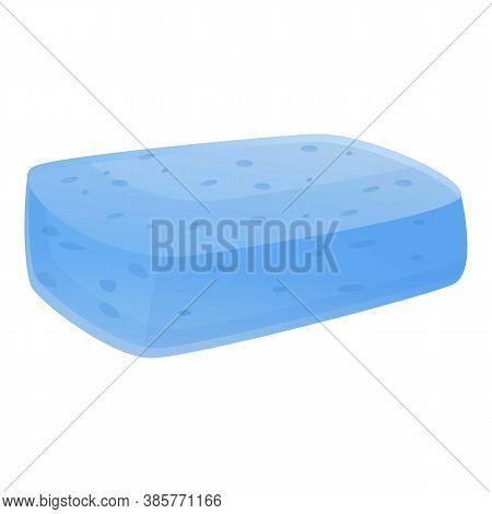 Sponge Washcloth Icon. Cartoon Of Sponge Washcloth Vector Icon For Web Design Isolated On White Back