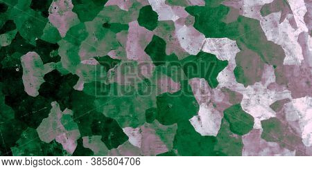 Camo Background. Watercolor Camouflage Wallpaper. Grey Khaki Textile. Graphic Geometric Design. Dark